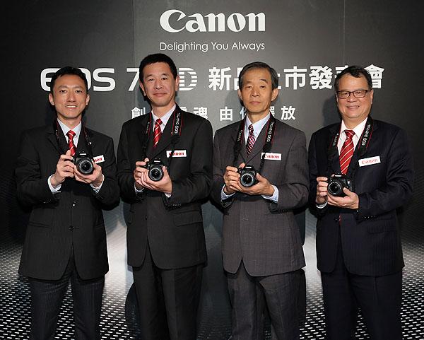 Canon數位單眼相機EOS 700D新上市