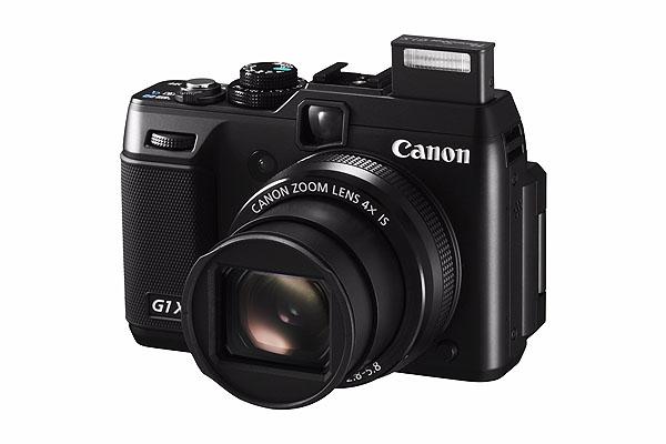 (圖說五) Canon類單眼旗艦機種PowerShot G1X具有媲美數位單眼相機的高畫質影像,是專業攝影玩家的必備機款,今降價2,000元。